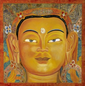 Maha Matreya - my most recent painting - October 2008